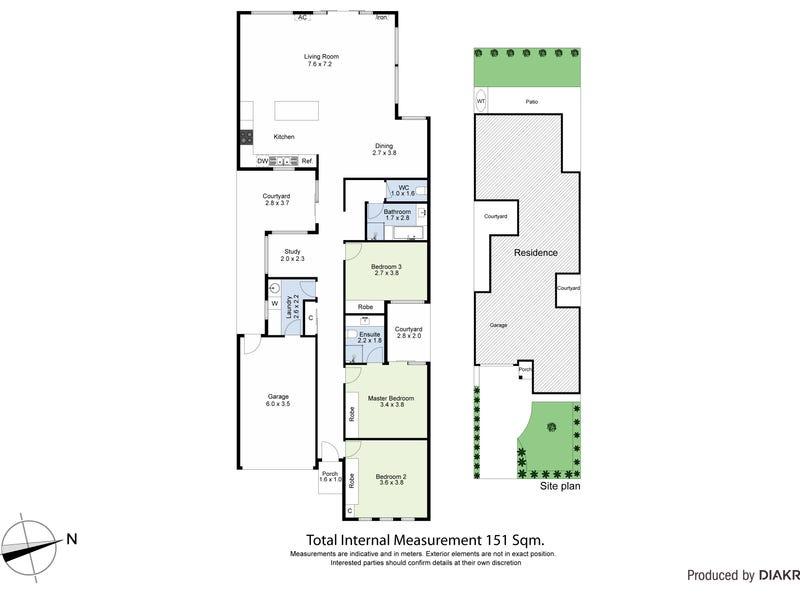 34A Truman Street, South Kingsville, Vic 3015 - floorplan
