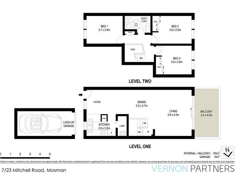 7/23  Mitchell Road, Mosman, NSW 2088 - floorplan