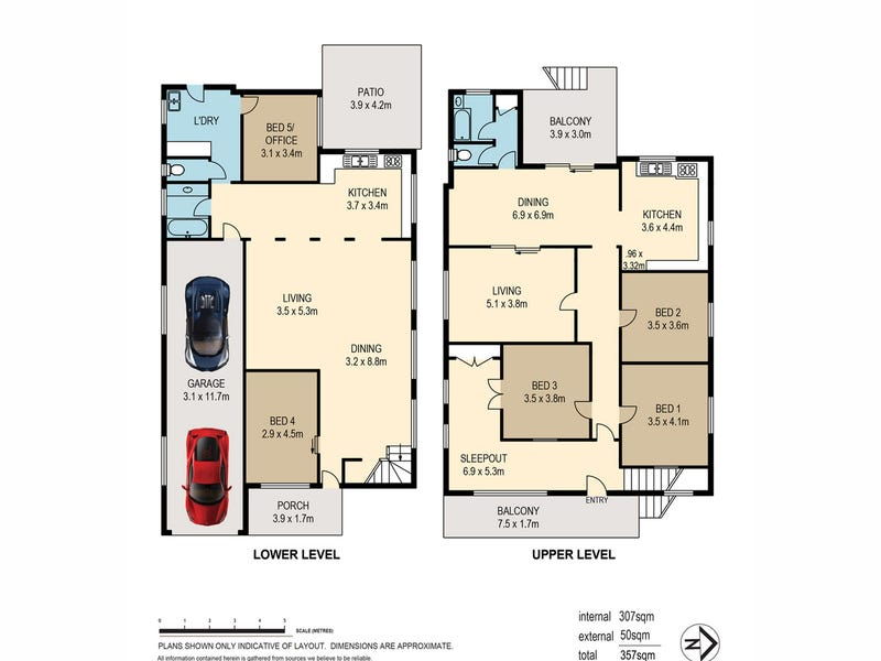27 Dauphin Terrace, Highgate Hill, Qld 4101 - floorplan