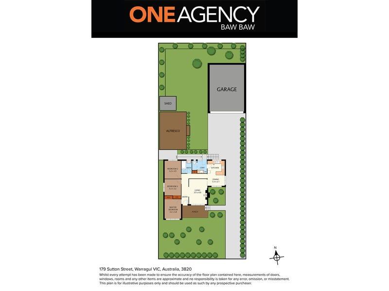 179 Sutton Street, Warragul, Vic 3820 - floorplan