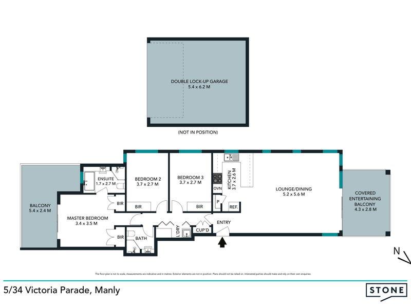 5/34-38 Victoria Parade, Manly, NSW 2095 - floorplan