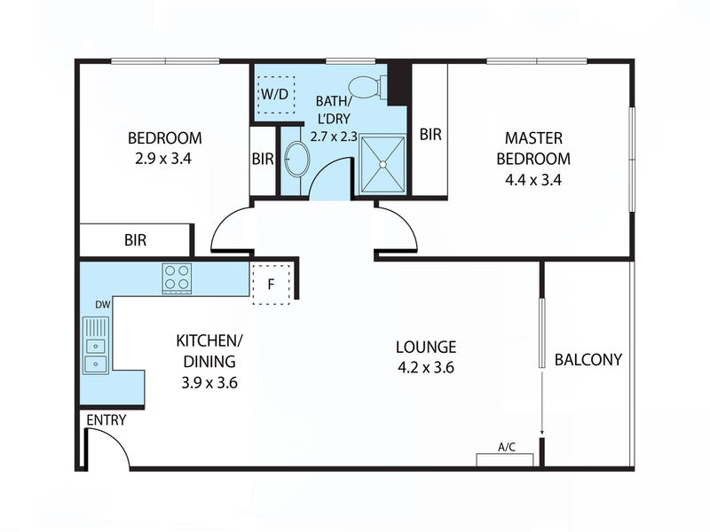 117/21 Battye Street, Bruce, ACT 2617 - floorplan