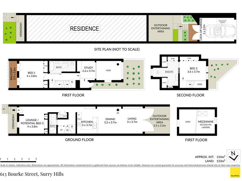 613 Bourke Street, Surry Hills, NSW 2010 - floorplan