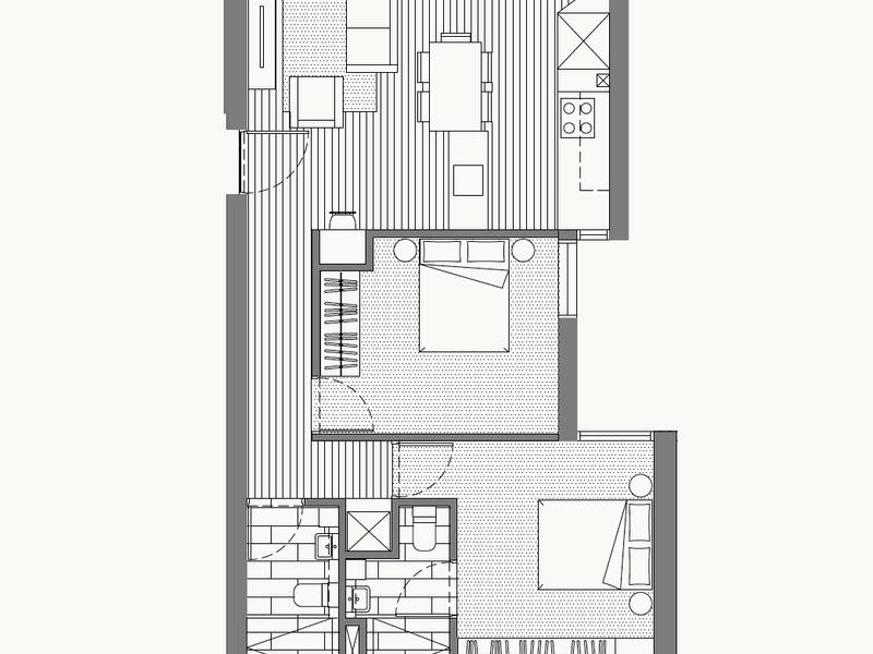 107/206 Lower Heidelberg Road, Ivanhoe, Vic 3079 - floorplan