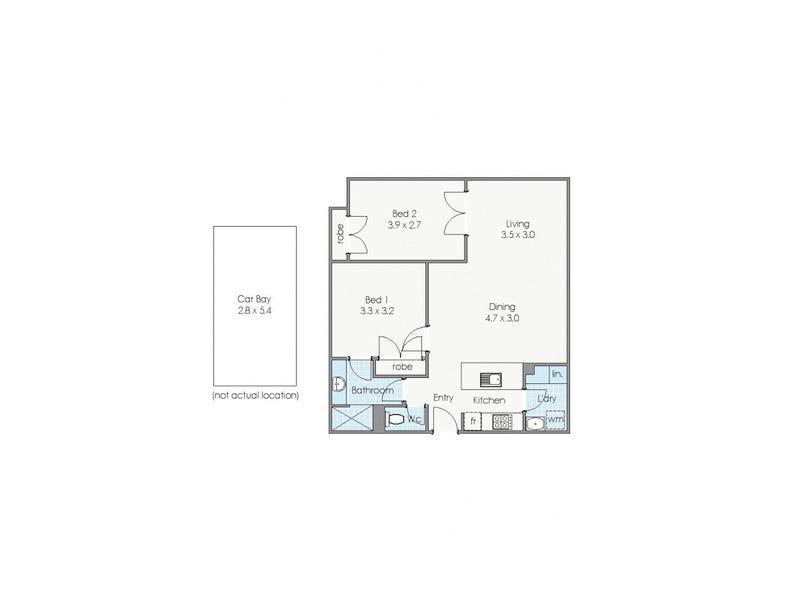 25/11 Regal Place, East Perth, WA 6004 - floorplan