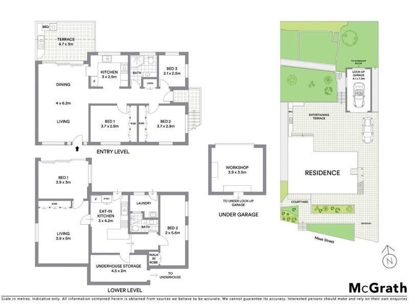 4 Maas Street, Cromer, NSW 2099 - floorplan