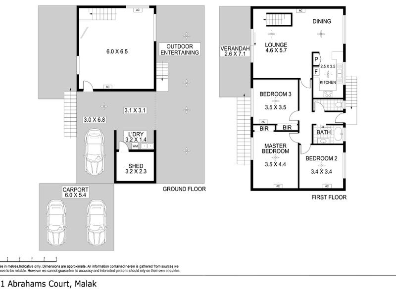 21 Abrahams Court, Malak, NT 0812 - floorplan