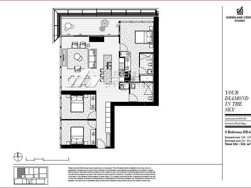 L28/115-119 Bathurst Street, Sydney, NSW 2000 - floorplan