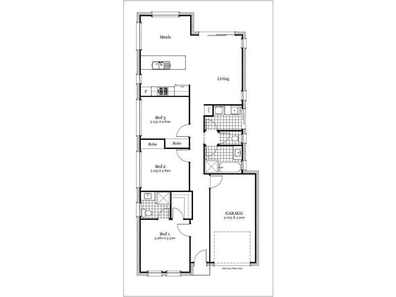 Lot 801 Pitcairn Ave, Marion, SA 5043 - floorplan