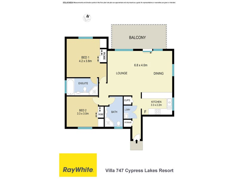 Villa 747 Cypress Lakes Resort, Pokolbin, NSW 2320 - floorplan
