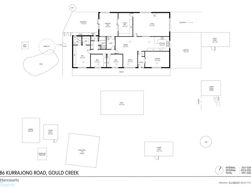 86 Kurrajong Road, Gould Creek, SA 5114 - floorplan