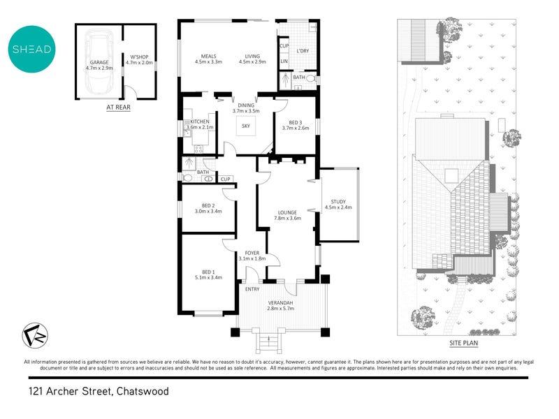 121 Archer Street, Chatswood, NSW 2067 - floorplan