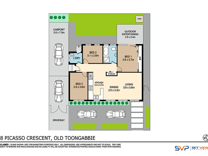 48 Picasso Crescent, Old Toongabbie, NSW 2146 - floorplan