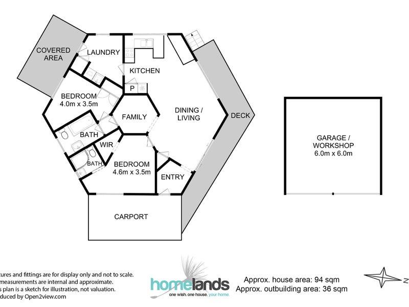 2 Crooked Tree Court, Nicholls Rivulet, Tas 7112 - floorplan