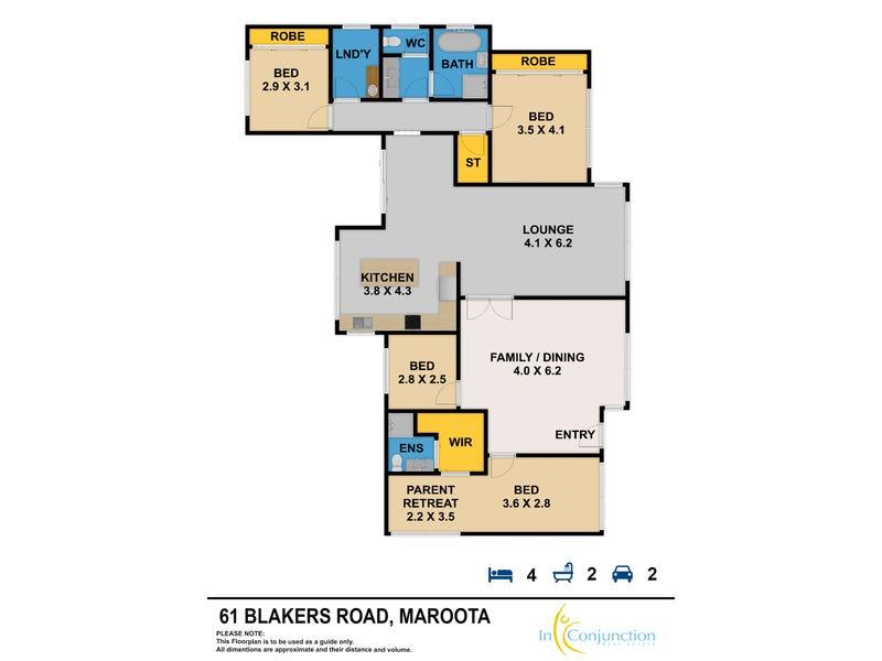 Maroota, address available on request - floorplan