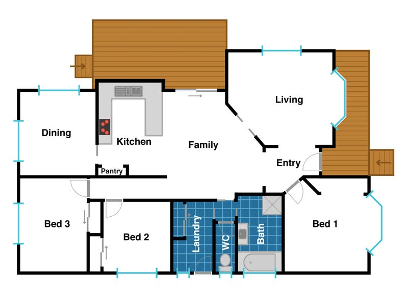 75 Ruth Drive, Lenah Valley, Tas 7008 - floorplan