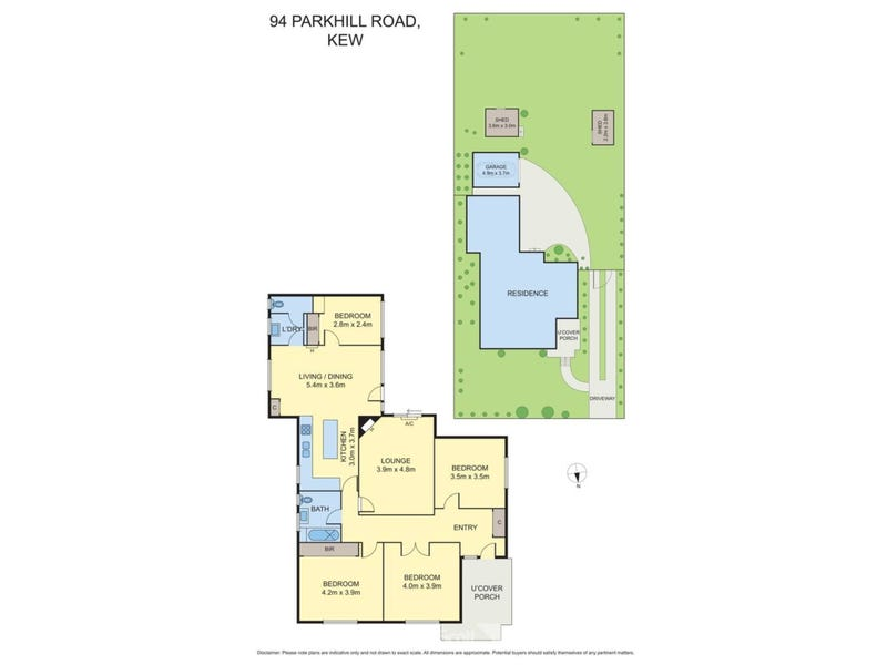 94 Parkhill Road, Kew, Vic 3101 - floorplan
