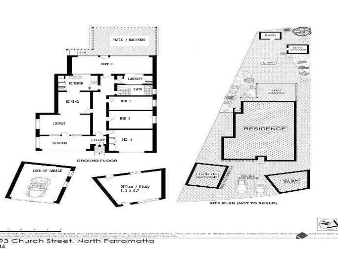 493  Church Street, North Parramatta, NSW 2151 - floorplan