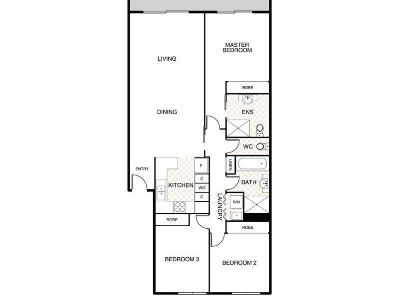 22/22 Lampard Circuit, Bruce, ACT 2617 - floorplan