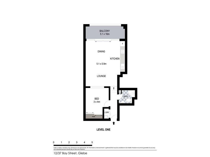12/37 Bay Street, Glebe, NSW 2037 - floorplan