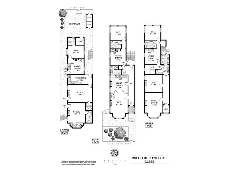 361 Glebe Point Road, Glebe, NSW 2037 - floorplan
