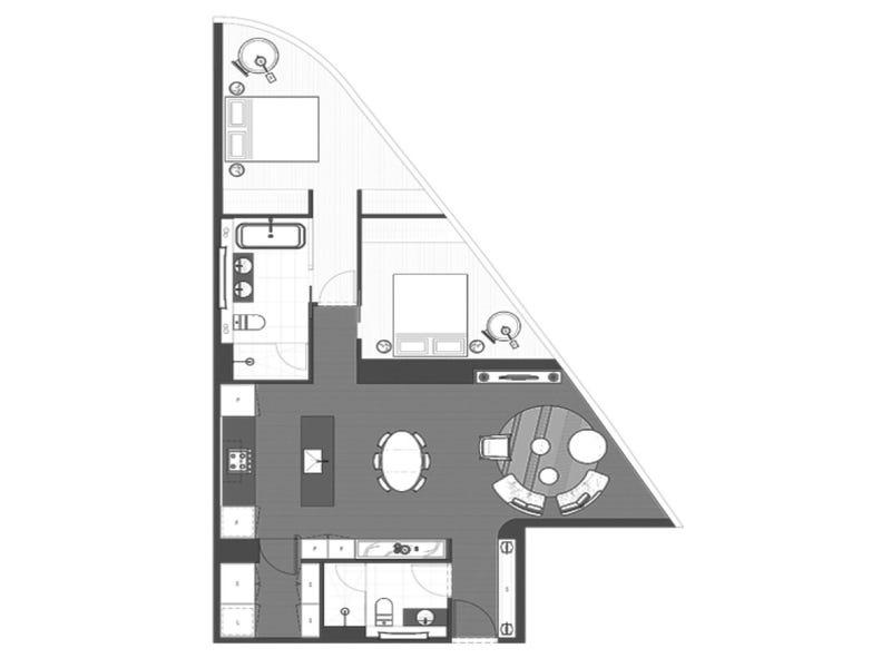 7907/224-252 LaTrobe Street, Melbourne, Vic 3000 - floorplan