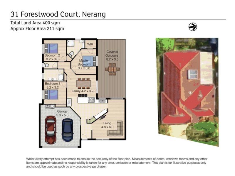 31 Forestwood Court, Nerang, Qld 4211 - floorplan