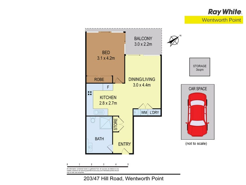 203/47 Hill Road, Wentworth Point, NSW 2127 - floorplan
