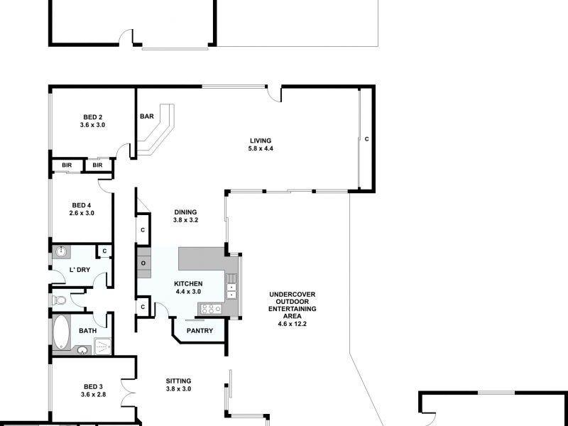 21 Hilltop Crescent, Alexandra Hills, Qld 4161 - floorplan