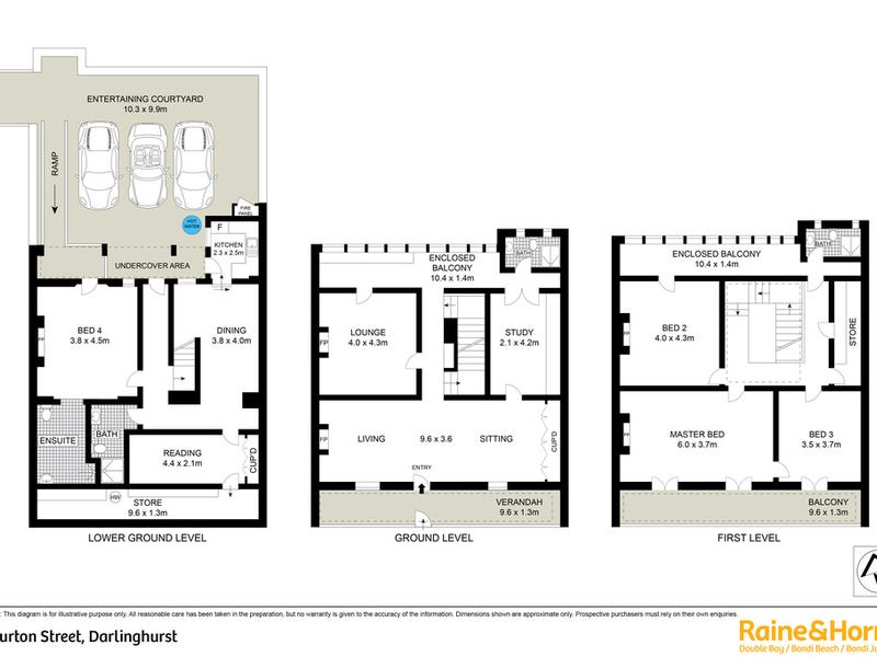 22 Burton Street, Darlinghurst, NSW 2010 - floorplan