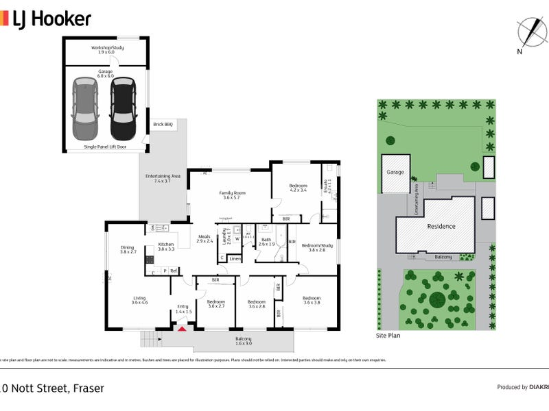 10 Nott Street, Fraser, ACT 2615 - floorplan