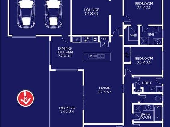 25 Sea Haven Drive, Clifton Springs, Vic 3222 - floorplan