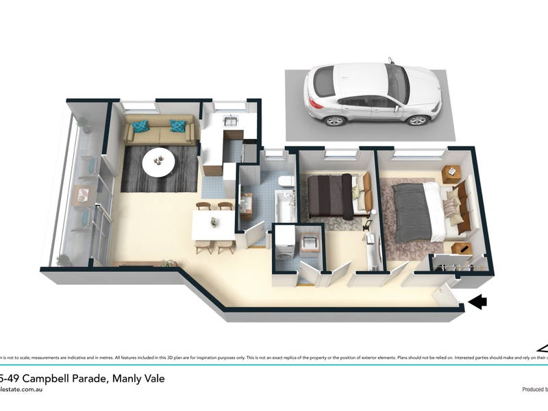 12/49 Campbell Parade, Manly Vale, NSW 2093 - floorplan