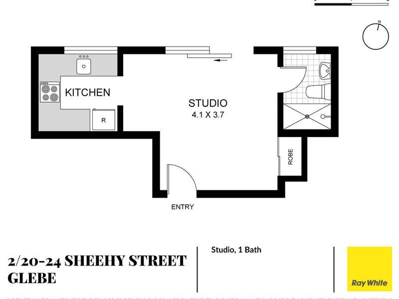 2/20-24 Sheehy Street, Glebe, NSW 2037 - floorplan