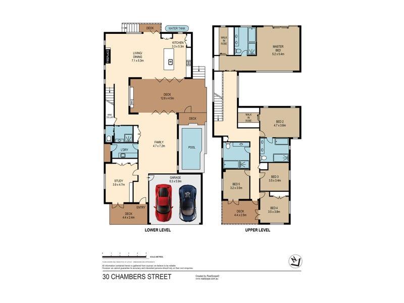 30 Chambers Street, New Farm, Qld 4005 - floorplan