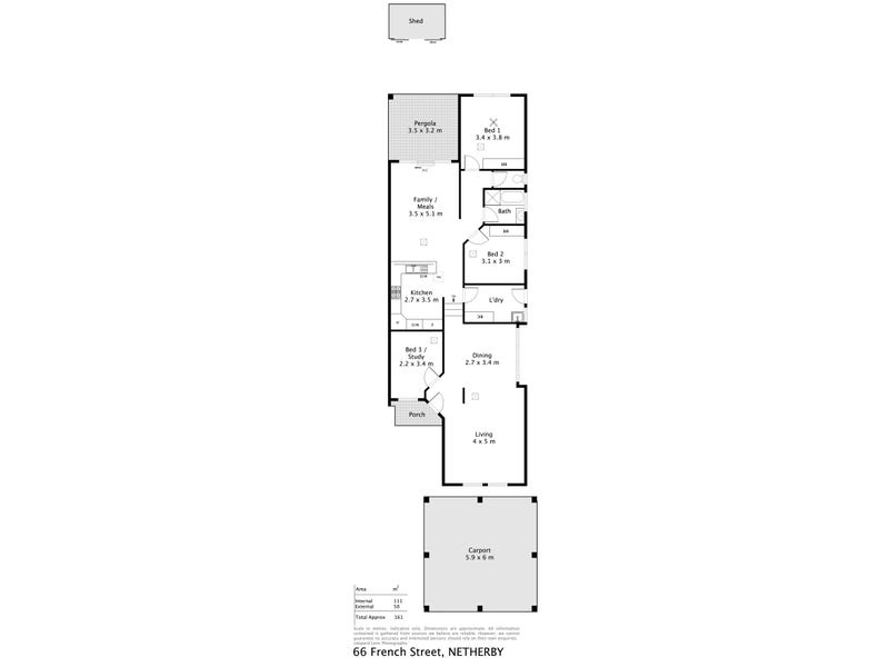 66 French St, Netherby, SA 5062 - floorplan