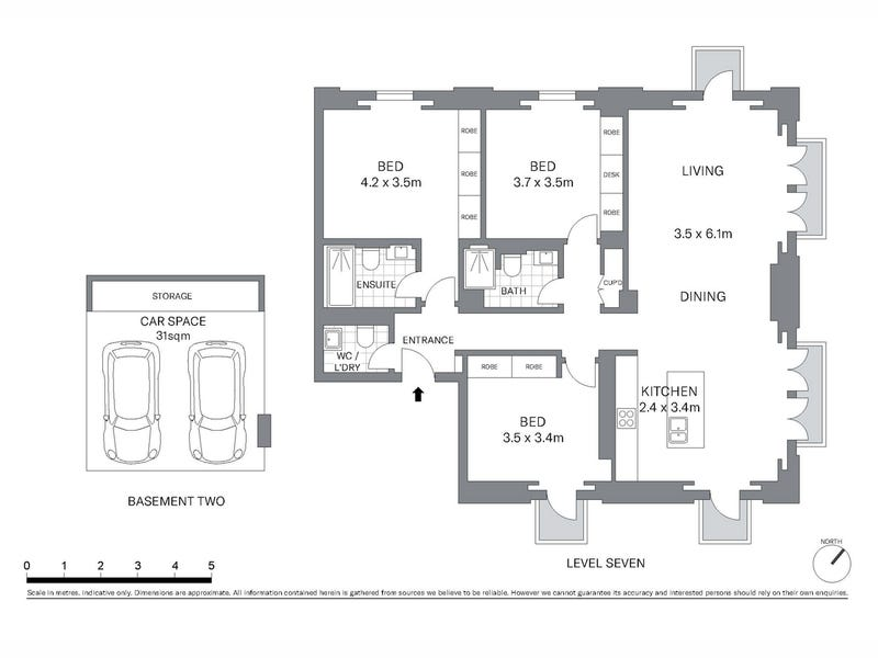 701/8 Darling Island Road, Pyrmont, NSW 2009 - floorplan