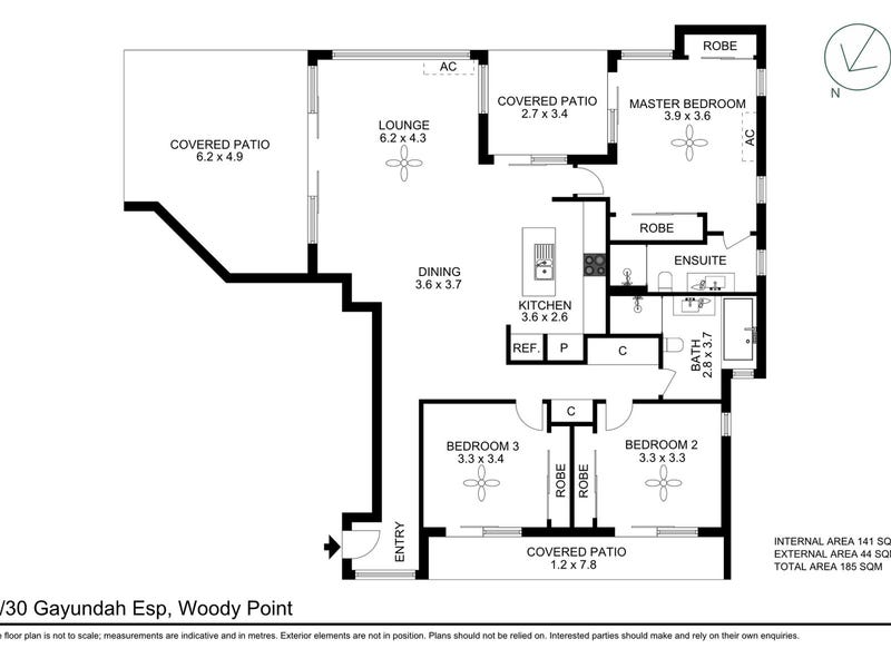 5/30 Gayundah Esplanade, Woody Point, Qld 4019 - floorplan