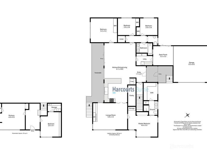 8 Tracey Street, Park Grove, Tas 7320 - floorplan