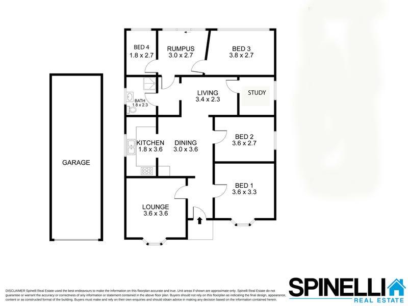 12 Grafton Street, Fairy Meadow, NSW 2519 - floorplan