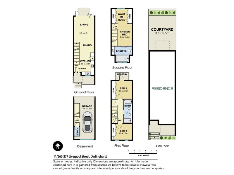 11/265-277 Liverpool Street, Darlinghurst, NSW 2010 - floorplan