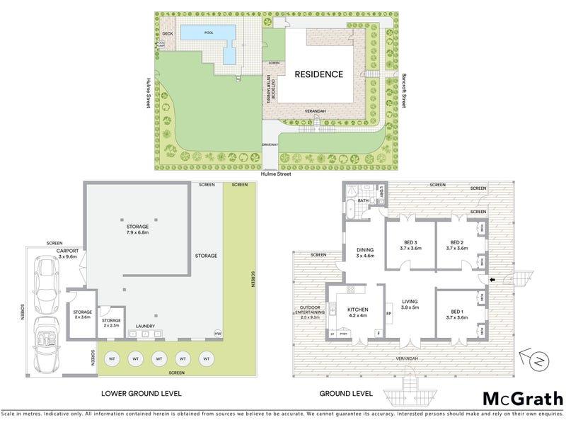18 Bancroft Street, Kelvin Grove, Qld 4059 - floorplan