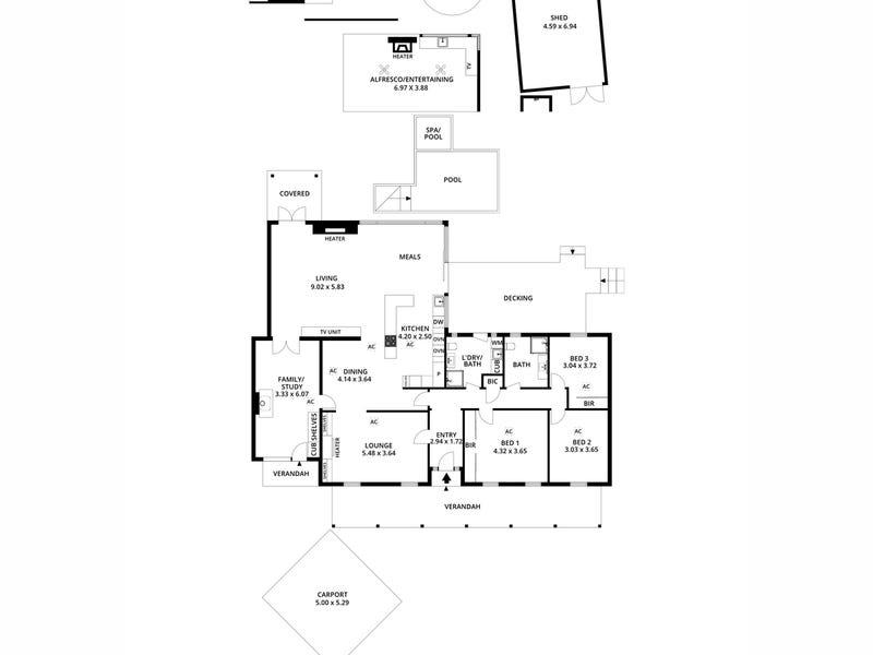 9 Hubbe Court, Burnside, SA 5066 - floorplan