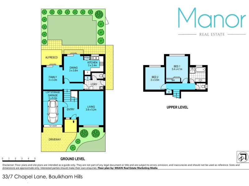 33/7 Chapel Lane, Baulkham Hills, NSW 2153 - floorplan