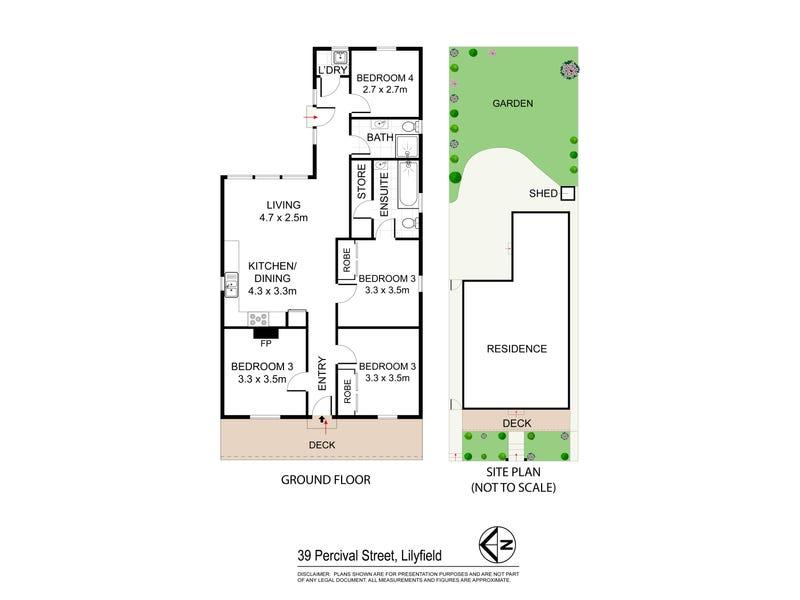 39 Percival Street, Lilyfield, NSW 2040 - floorplan