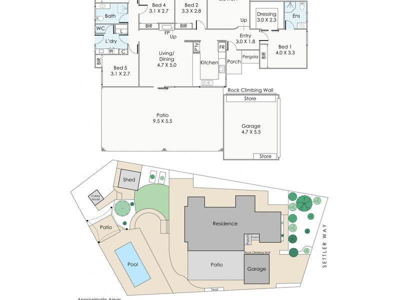 33 Settler Way, Edgewater, WA 6027 - floorplan