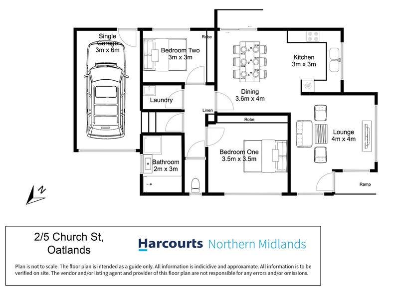 2/5 Church Street, Oatlands, Tas 7120 - floorplan