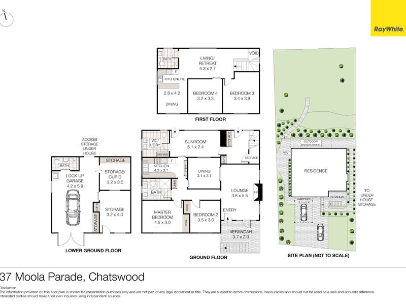 37 Moola Parade, Chatswood, NSW 2067 - floorplan