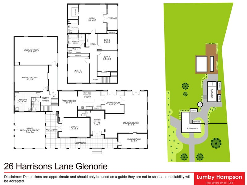 26 Harrisons Lane, Glenorie, NSW 2157 - floorplan