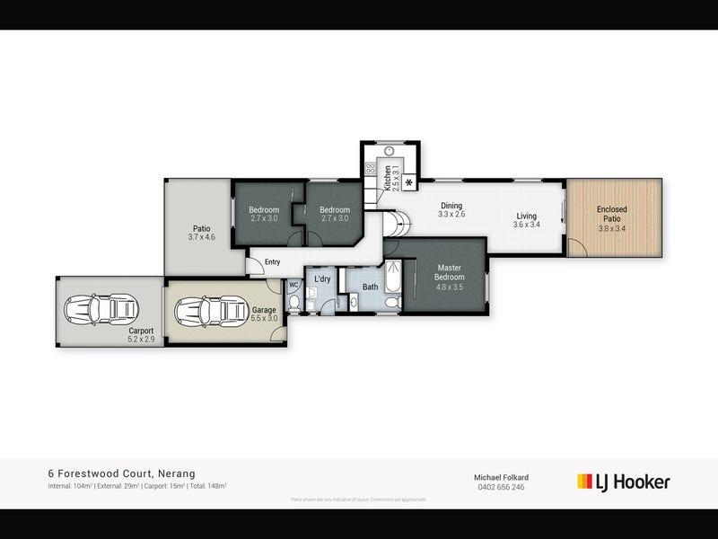 6 Forestwood Court, Nerang, Qld 4211 - floorplan
